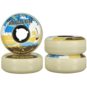Undercover Jeph Howard Pro Post Card Line Aggressive Wheels 89a 58mm