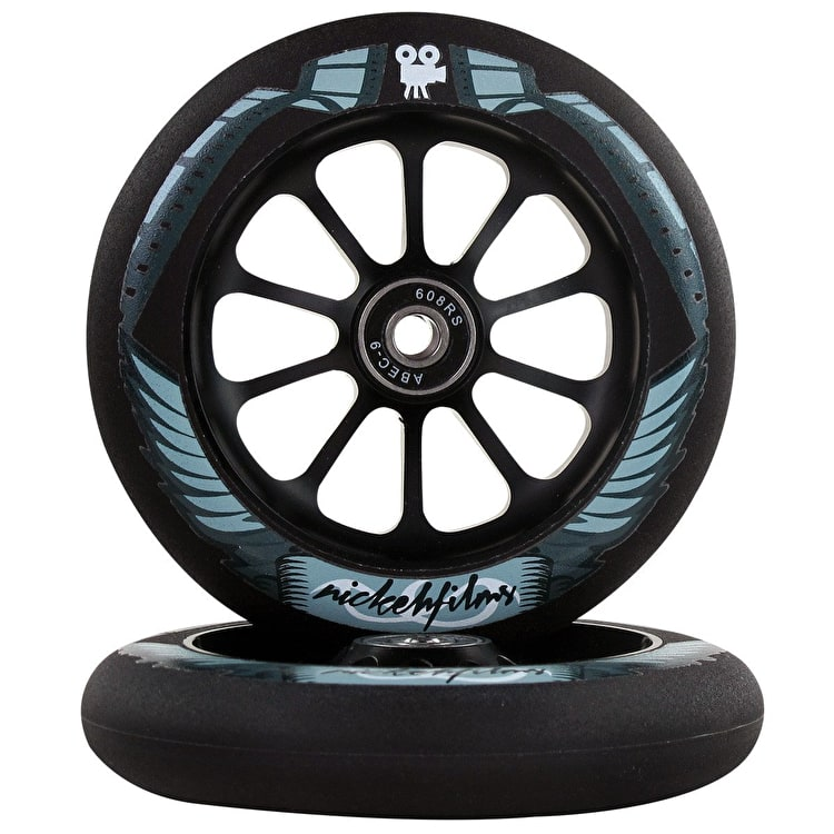 Ride 858 120mm Signature Scooter Wheels - Nickehfilms