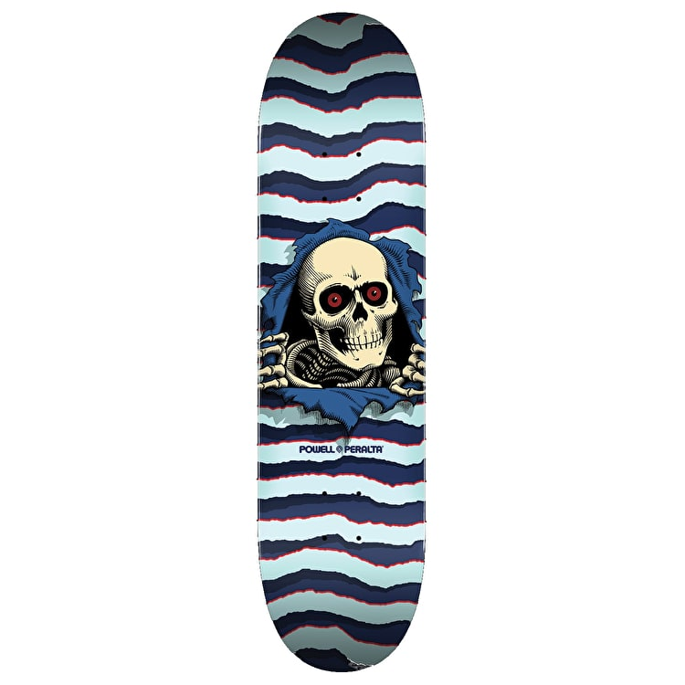Powell peralta ripper skateboard deck light blue 90 powell powell peralta ripper skateboard deck light blue 90 aloadofball Choice Image