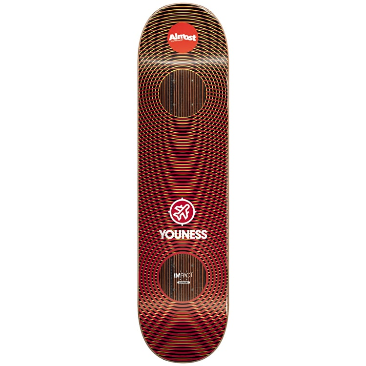 Almost Skateboard Deck - Impact Vibes Youness 8""