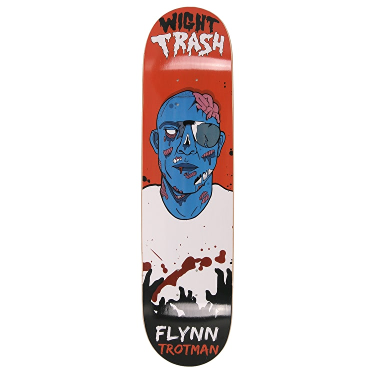 Wight Trash Zombie Skateboard Deck - Flynn 8""