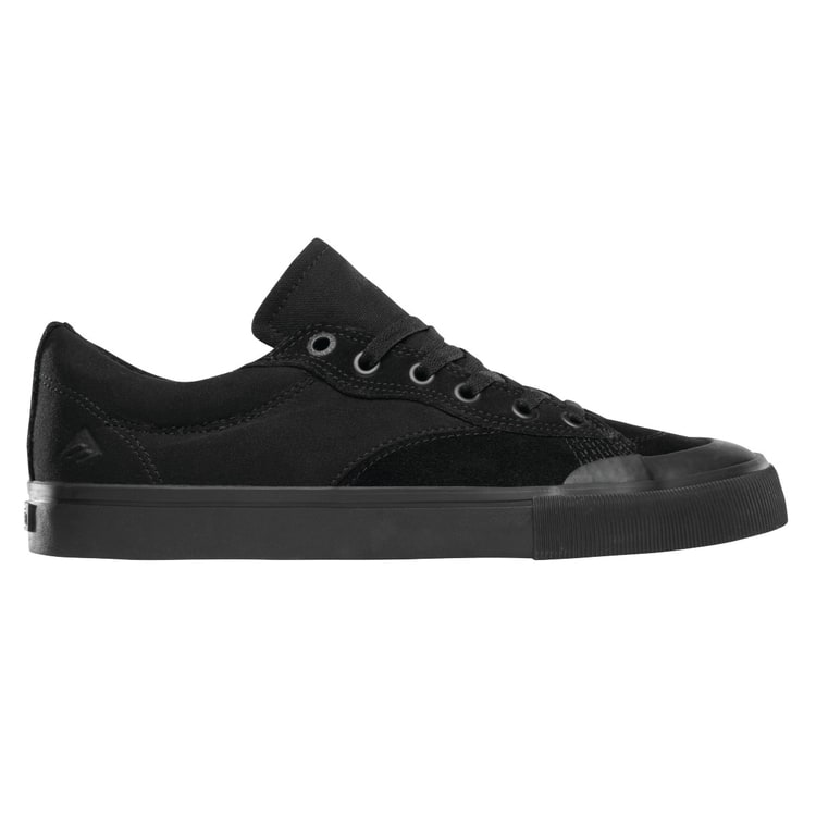 Emerica Indicator Low Skate Shoes - Black/Black/Gum