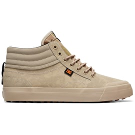 DC Evan Smith Hi Winterized High Top Skate Shoes - Tan Camo