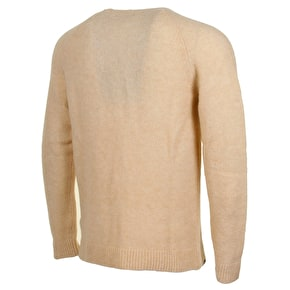 WeSC Aaron Knitted Sweater - Lunar Rock