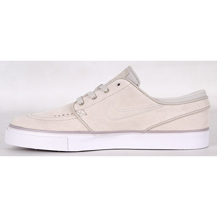 Nike SB Air Zoom Stefan Janoski Womens Skate Shoes - White/White