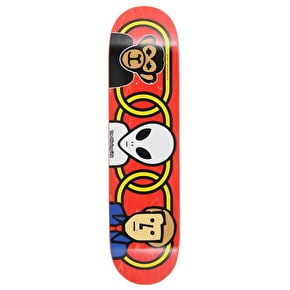 Alien Workshop Missing Link Skateboard Deck - Red 7.875