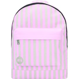 Mi-Pac Seaside Stripe Backpack - Pink/Sand