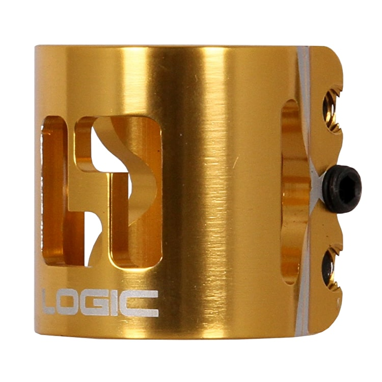 Logic HIC Double Clamp - Gold