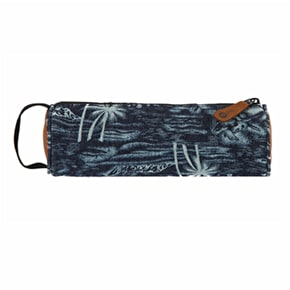 Mi-Pac Pencil Case - Denim Palm Indigo