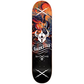 Darkstar Axis RHM Skateboard Deck - Orange 8.375