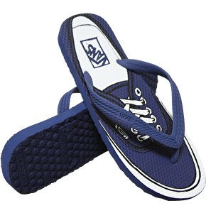 Vans Hanelei Flip Flops - (Authentic) Navy
