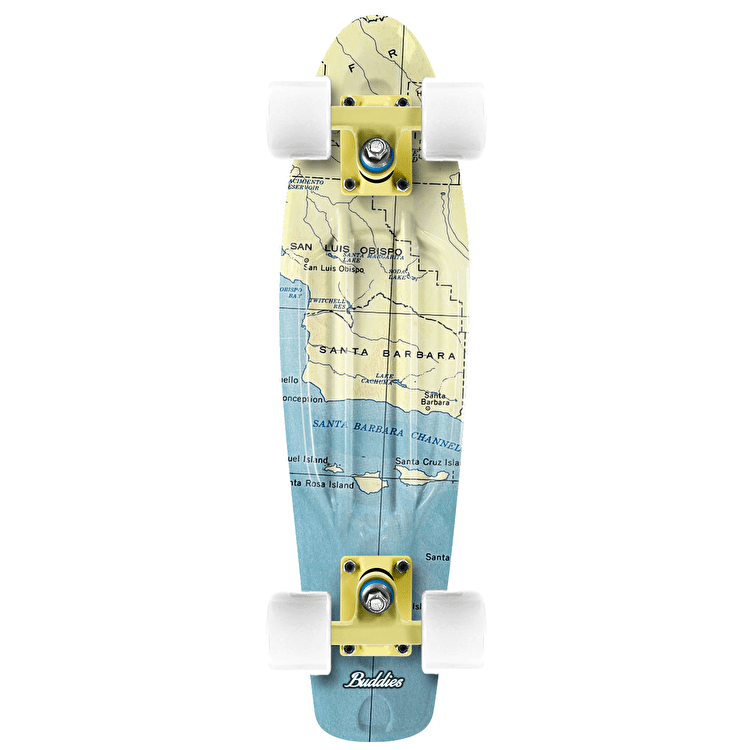 "Long Island California 22"" Buddie Cruiser Skateboard"