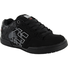 Etnies Kids 'Metal Mulisha' Charter Shoes - Black/Red
