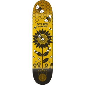 Karma Skate For The Planet Skateboard Deck - Bees 8.125