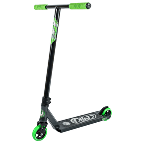 B-Stock Phoenix Complete Scooter - Pilot Black/Green (Box Damage)