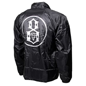 Rebel8 Circle 8 Coaches Jacket - Black