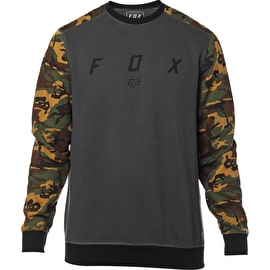 Fox Destrakt Crew Fleece - Grey/Camo
