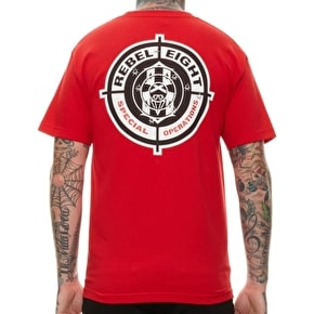 Rebel8 Special Operations T-Shirt - Red