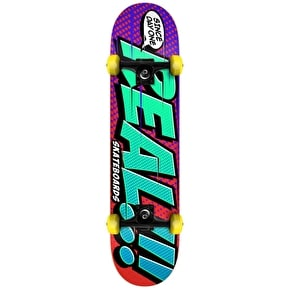 Real Big Bang Complete Skateboard - Purple/Red 7.75