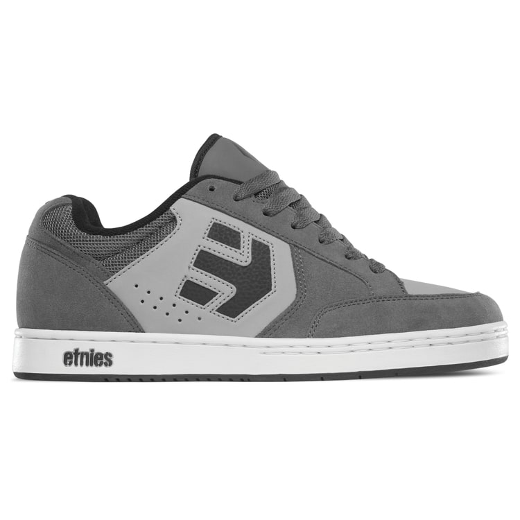 Etnies Swivel Skate Shoes  GreyBlackWhite