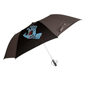 Santa Cruz Umbrella - Screaming Hand Black