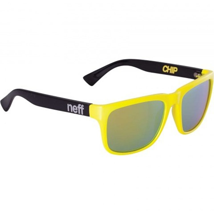 Neff Chip Sunglasses - Yellow/Black