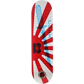 Plan B Cole Warrior P2 Skateboard Deck - 8