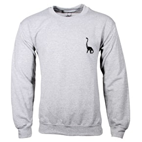 WKND Long Neck Crewneck - Heather Navy