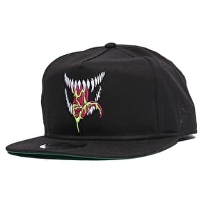 Grizzly x Venom Grin New Era Snapback Cap - Black