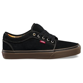 Vans Chukka Low Shoes - (Aztec Stripe) Black/Gum