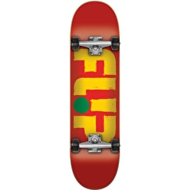 Flip Odyssey Stroked Complete Skateboard - Red 7.75
