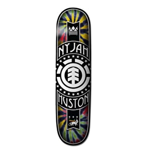 Element Rasta Logo Skateboard Deck - Nyjah 8''