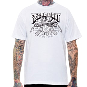 Rebel8 Strike First T-Shirt - White
