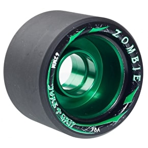 Sure-Grip Zombie Max 62mm Quad Derby Wheels 98A (4pk) Green