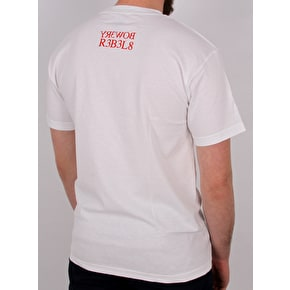 National Skateboard Co Winning T-Shirt - White