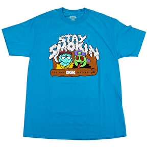 DGK Smokin Everyday T-Shirt - Turquoise