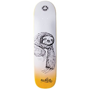 Welcome Sloth On Bunyip Skateboard Deck - 8.0
