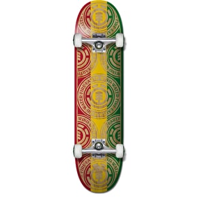 Element Rasta Seal Complete Skateboard - 7.75