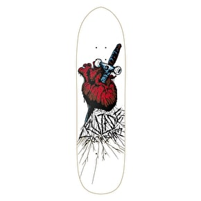 Cruzade Skateboard Deck - Stabbed Heart 8.5