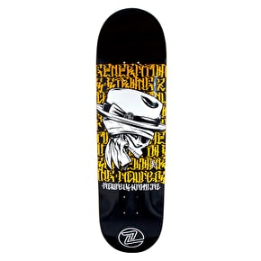 Z-Flex Skateboard Deck - Dead Language Series - Script - 8.5''
