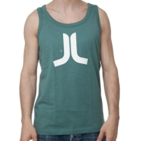 WeSC Icon Singlet - Botanical Green