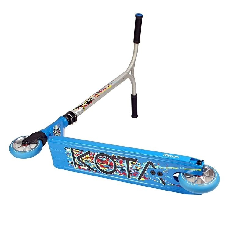 Kota Recon Complete Scooter - Blue/Raw