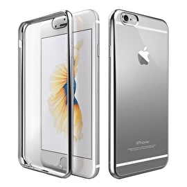 Aero Metallic Bumper Phone Case - Silver