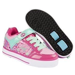 B-Stock Heelys X2 Thunder - Berry/Light Pink/Mint - UK 2 (Box Damage)