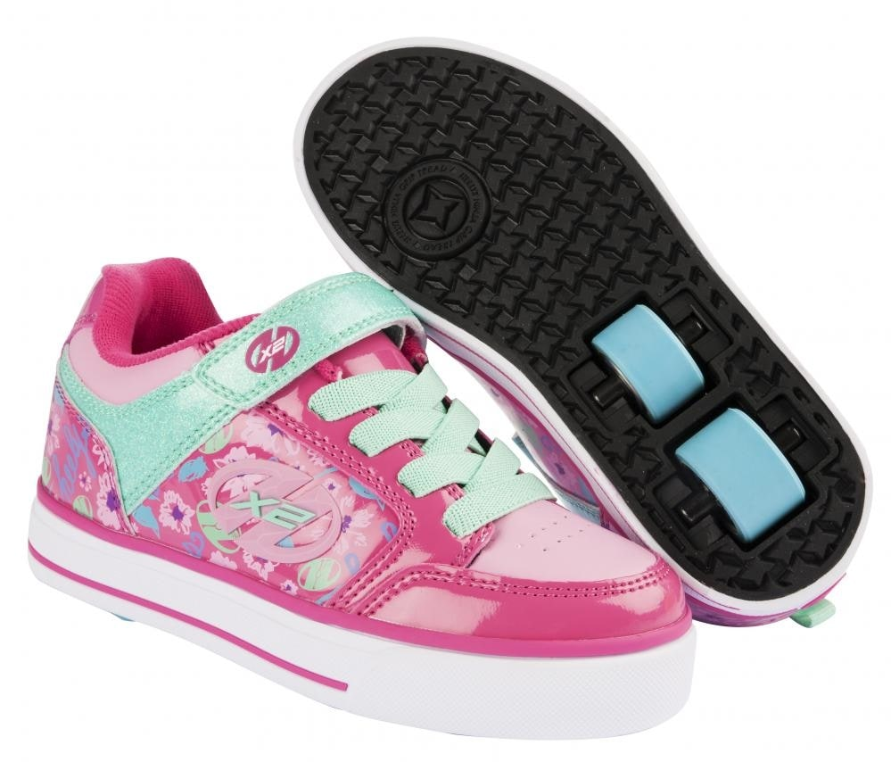 heelys x2 thunder berry light pink mint heelys shoes heelys trainers buy cheap heelys. Black Bedroom Furniture Sets. Home Design Ideas
