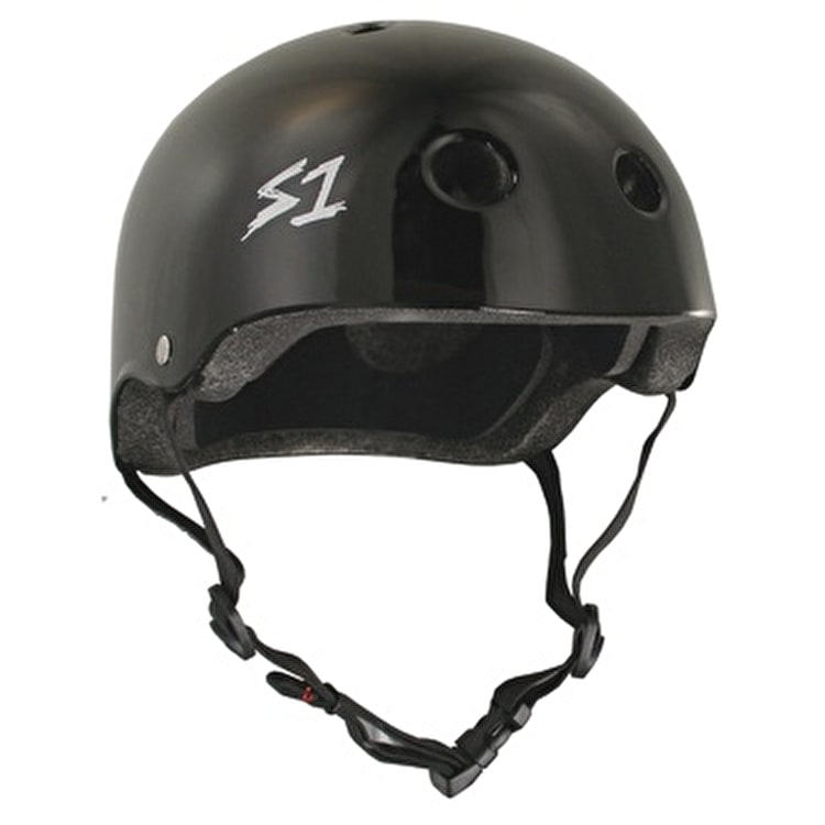 S1 'Lifer' Multi Impact Helmet- Black Gloss