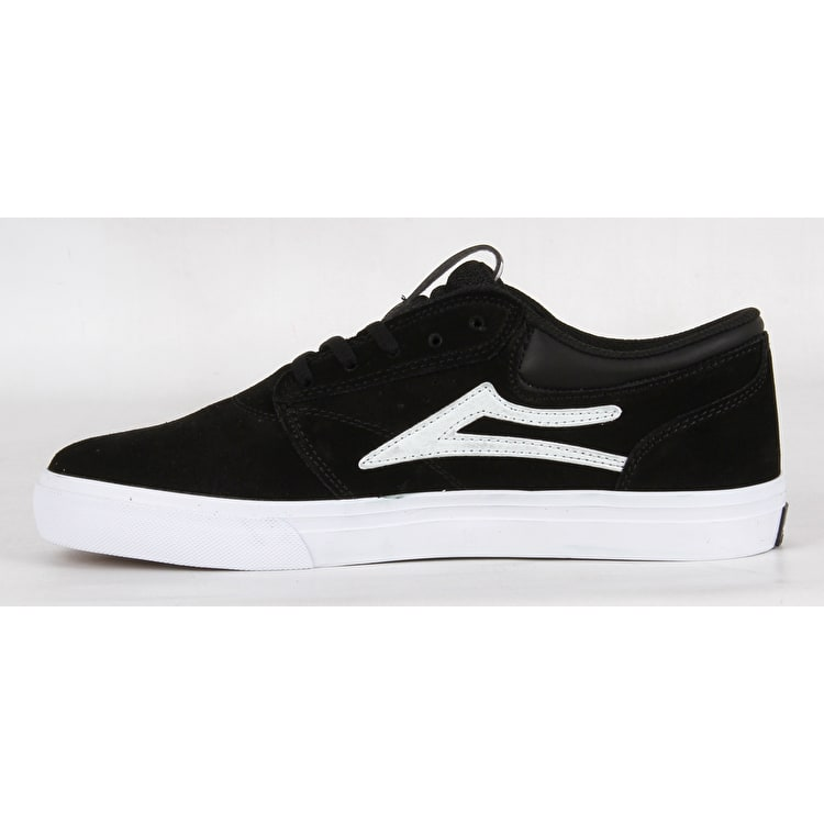 Lakai Griffin SMU Skate Shoes - Black Suede