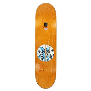 Polar Doodle Faces Part 1 Skateboard Deck - Team 8.375