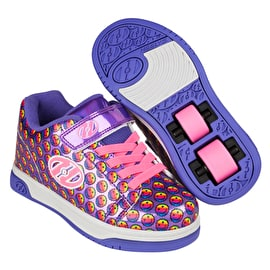 Heelys X2 Dual Up - Purple/Rainbow/Smile