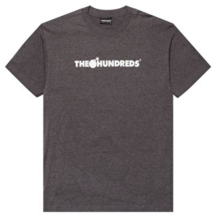 The Hundreds T-Shirt - Forever Bar - Charcoal Heather
